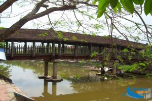 Tile-Roof Bridges In Ninh Binh - Amazing Ninh Binh