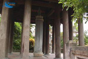 National Treasure in Ninh Binh One Pillar Pagoda - Amazing Ninh Binh