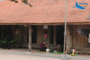 The Ancient House Of 200 Years Old In Thanh Hoa