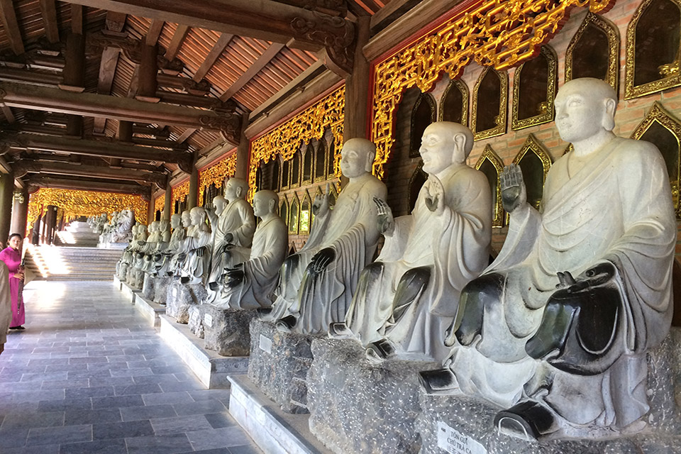 How Many Arhat Statues Are There In Bai Dinh Pagoda?